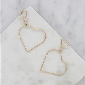 Jewelry - Heart of Gold Earrings
